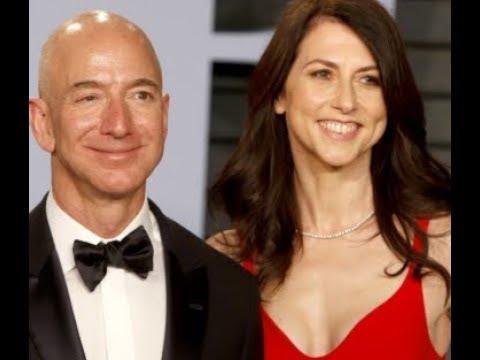 ベゾス氏離婚、史上最大の財産分与に 妻に株式4兆円! – 長さ: 2:18。