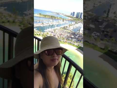 First time sa Hawaii at 25ffloor raînbow tower .. hawaiin village hilton ❤️❤️❤️ – 長さ: 0:15。