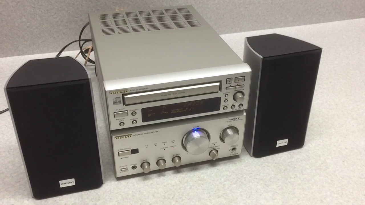 ONKYO/オンキョー★A-905TX / CDR-205TX / HTX-22HDST / RC-456S – 長さ: 3:25。
