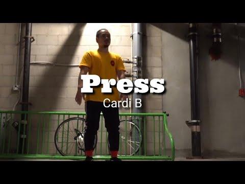 """PRESS"" – CARDI B | KENJI Freestyle |6,6,2019 | ELP H.F.C Project | ケンジ | ダンス | dance – 長さ: 1:06。"