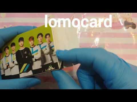 Unboxing lomo card GOT7 – 長さ: 1:05。