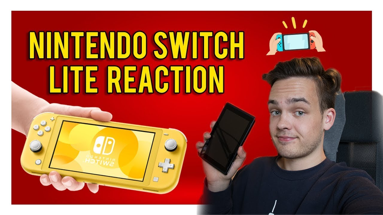 Nintendo Switch Lite REACTION & THOUGHTS – 長さ: 9:08。
