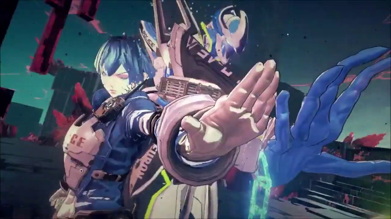 Astral Chain (Switch) – Footage (Aug. 24) – 長さ: 1:25。