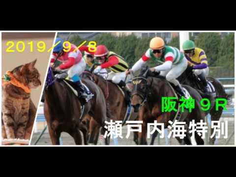 2019/9/8 阪神9レース 瀬戸内海特別 枠順確定 – 長さ: 2:16。