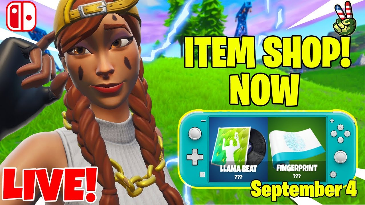 Fortnite Switch Player! // ITEM SHOP September 4, 2019 // (Fortnite Battle Royale LIVE) – 長さ: 3:17:47。