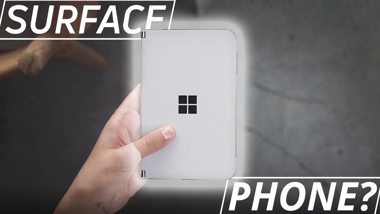 Did Microsoft just unveil a Surface PHONE?? Surface Duo! – 長さ: 2:57。