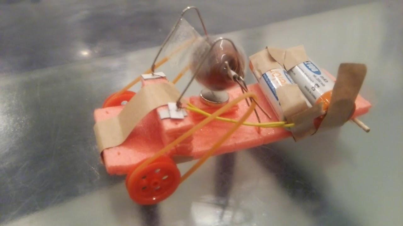 栄光学園のクリップモーターカーは動くのか? – 長さ: 0:40。