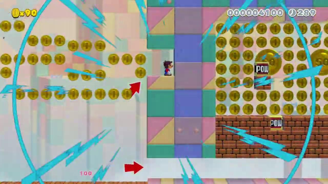 """[89.82%] ふりそそぐコインの雨 〜Fever☆Time〜 by Akki._."""" [No Commentary][Super Mario Maker 2 #180] – 長さ: 1:32。"""