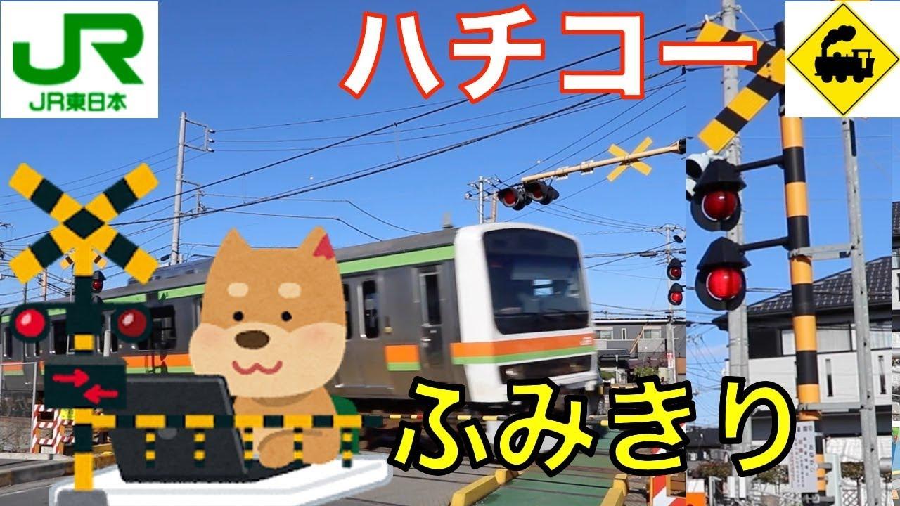 【踏切】JRほおづき警報灯踏切 Railway crossing JR Hachiko LINE RAILWAY(Saitama japan) – 長さ: 3:21。