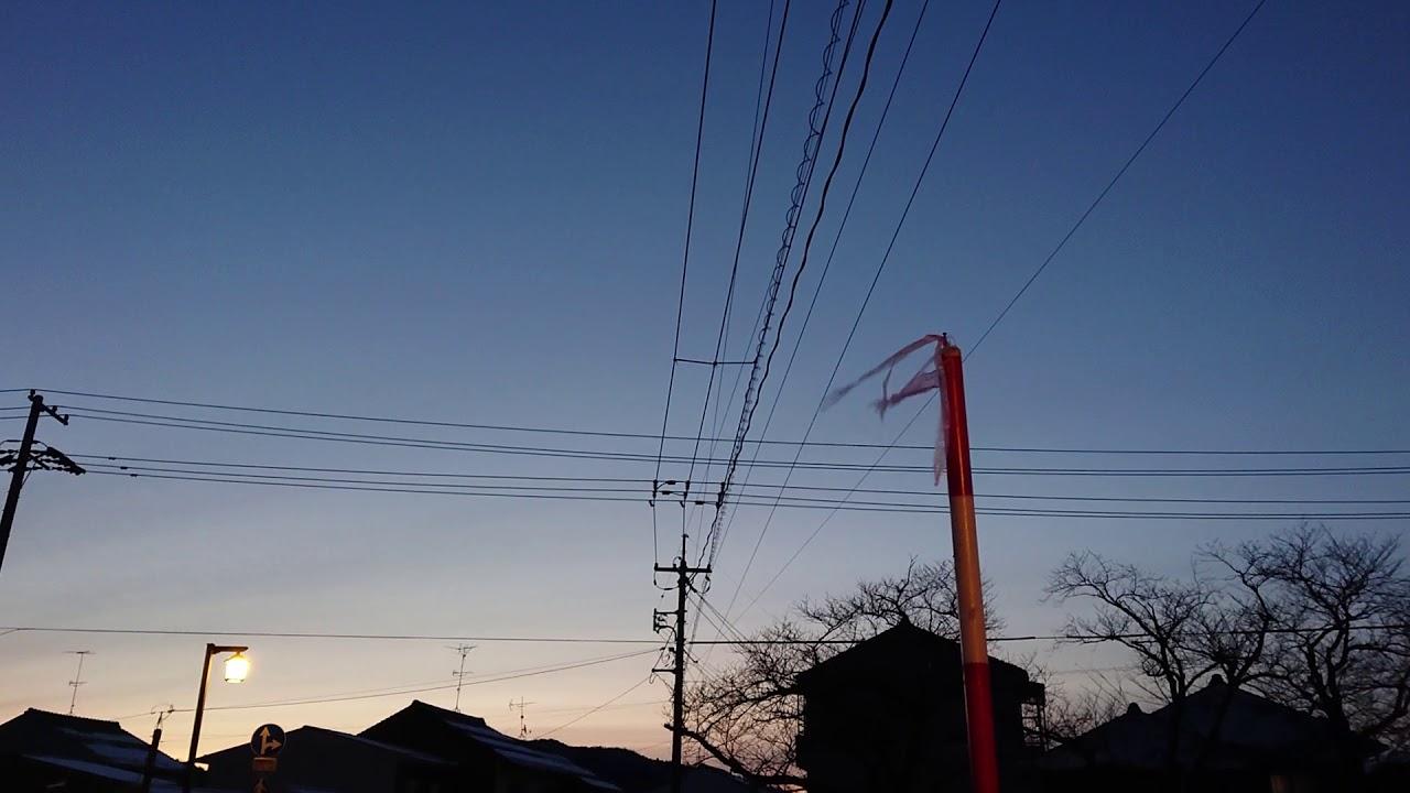 ウェザーリポート動画0207「ほぼ快晴、氷点下1℃」@鳥取市 6時38分頃 – 長さ: 0:35。