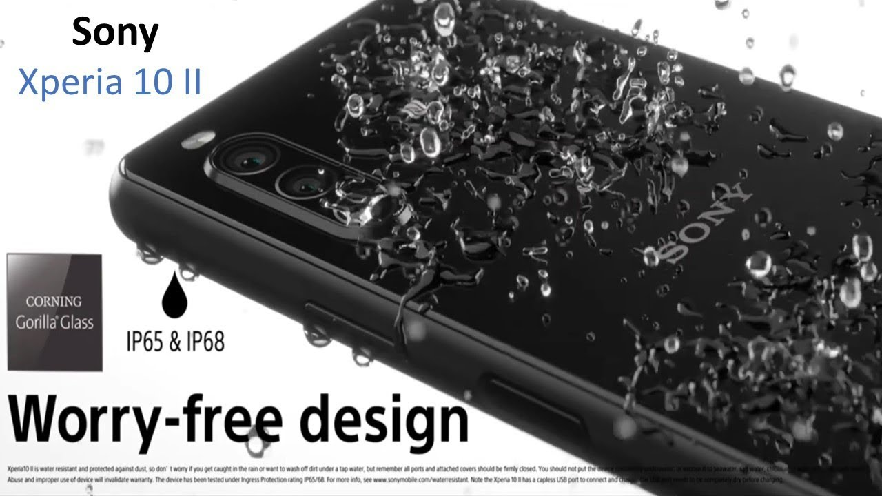 Introducing  Xperia 10 II | water Proof | Excellent Camera – 長さ: 1:27。