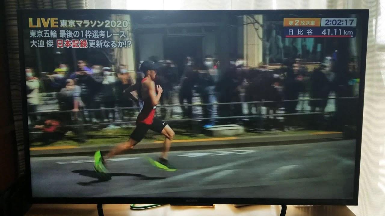 東京マラソン 大迫 日本新記録 – 長さ: 3:26。