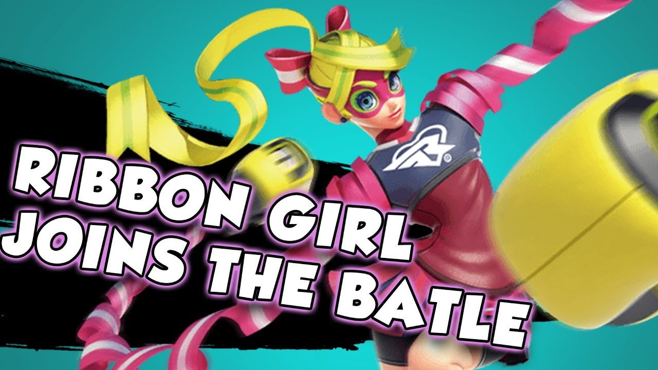 SMASH BROS. ULTIMATE ADDS ARMS CHARACTER RIBBON GIRL AS NEXT NEW CHARACTER – 長さ: 2:08。