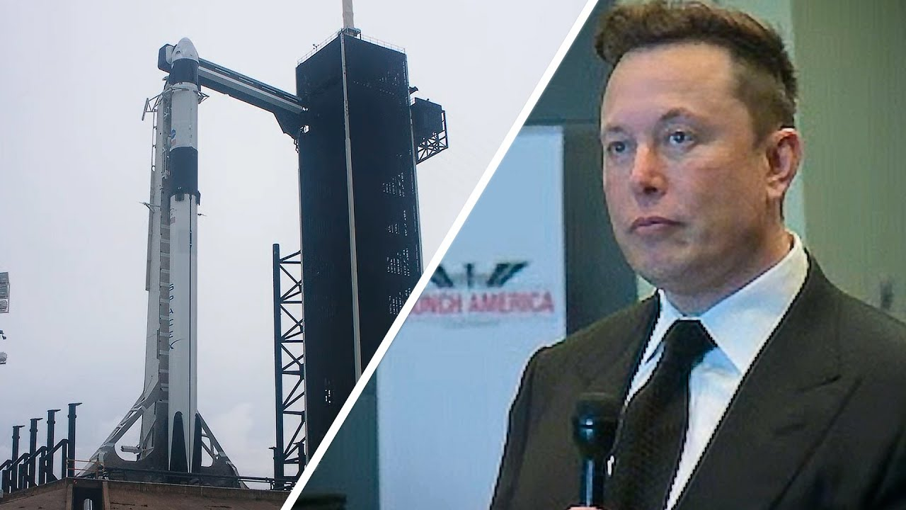 Elon Musk's emotional pre-launch speech hour before SpaceX Crew Dragon Demo-2 mission – 長さ: 10:32。