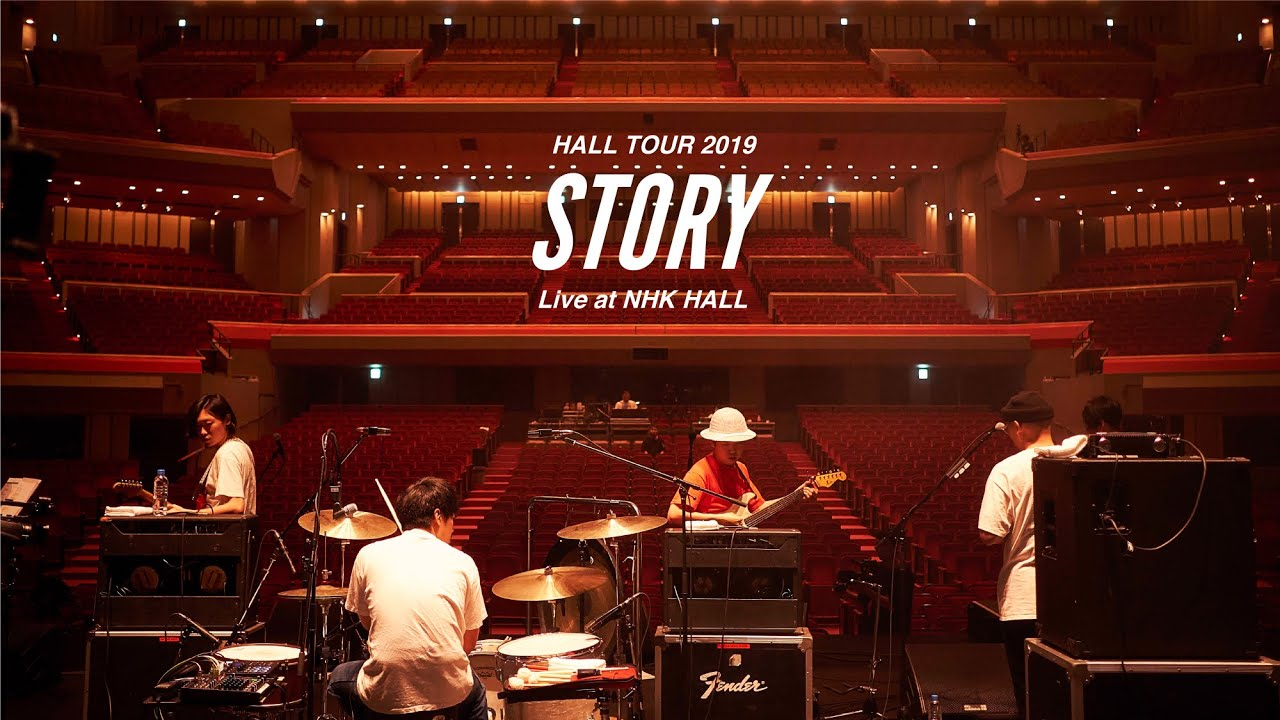"never young beach – HALL TOUR 2019 ""STORY"" (Live at NHK Hall) – 長さ: 1:00:13。"