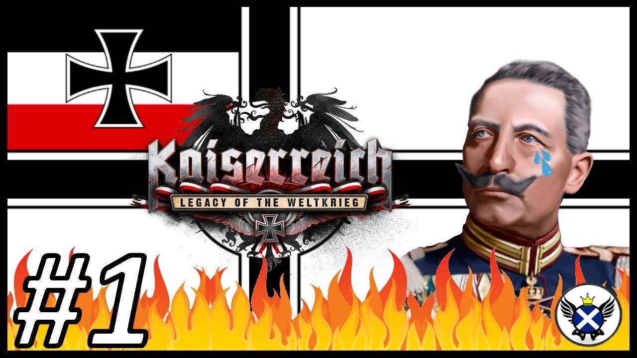 The Beginning of Our Exile!   HOI4 Kaiserreich German Goverment in Exile #1 – 長さ: 26:08。