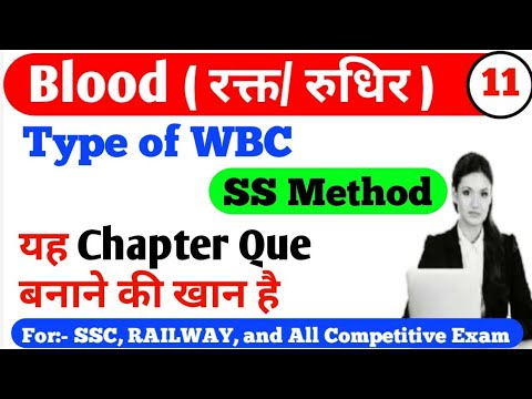 Type of WBC by Supriya Mam Part 11// Science Questions For Competitive Exams – 長さ: 15:37。