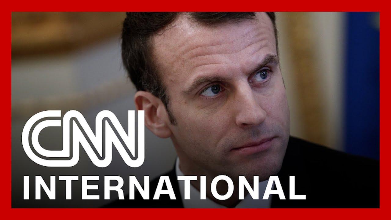 フランス大統領が「平手打ち」される。事件の動画にネットの声は…